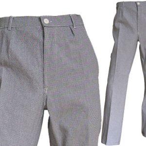 Pantalon de cuisine en coton