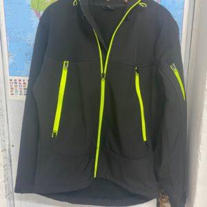 MT WEAR veste noir fluo